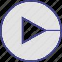 arrow, direction, go, next, point icon