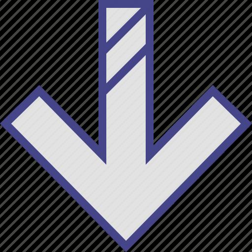arrow, diagnol, direction, lines, point icon