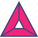 arrow, point, triangle, up icon