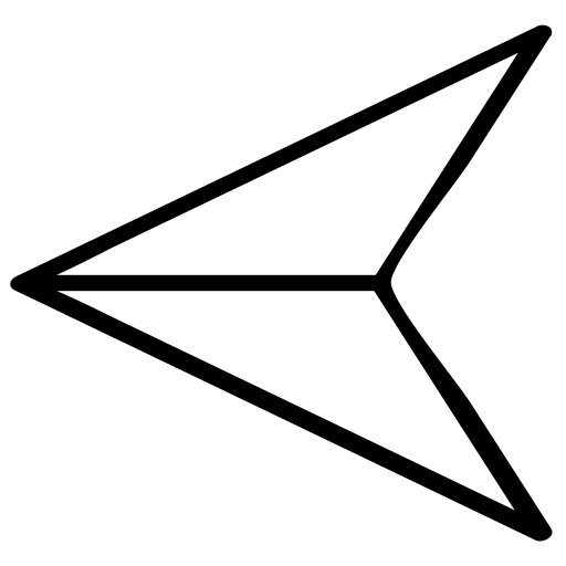 direction, left, point, pointer icon