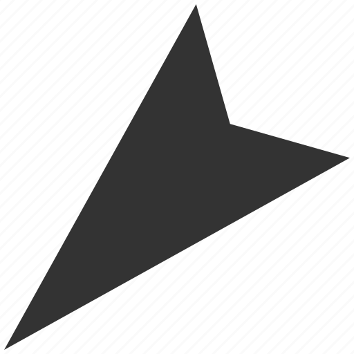 arrow head, arrowhead, direction, left down, left-down, move, pointer icon