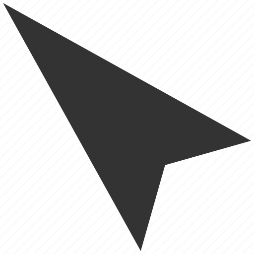 arrow head, arrowhead, cursor, direction, left up, left-up, pointer icon
