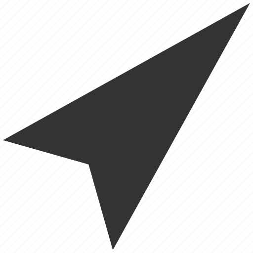 arrow head, arrowhead, cursor, directional, pointer, right up, right-up icon