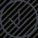 arrow, design, down, point, ui, ux icon