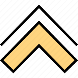 arrow, direction, pointer, up, upload icon