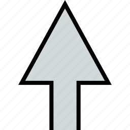 arrow, direction, point, up, upload icon
