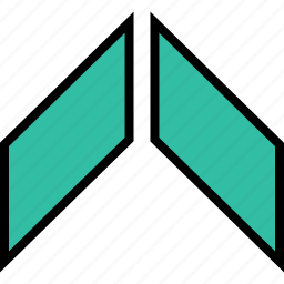 arrow, direction, point, upload icon