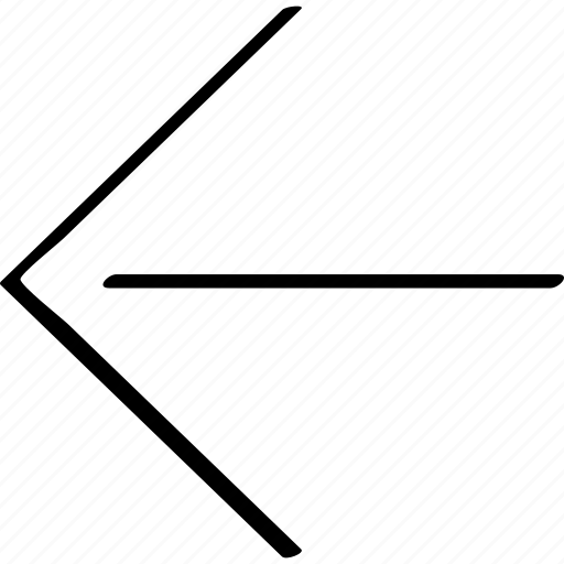 direciton, exit, left, point, pointer icon