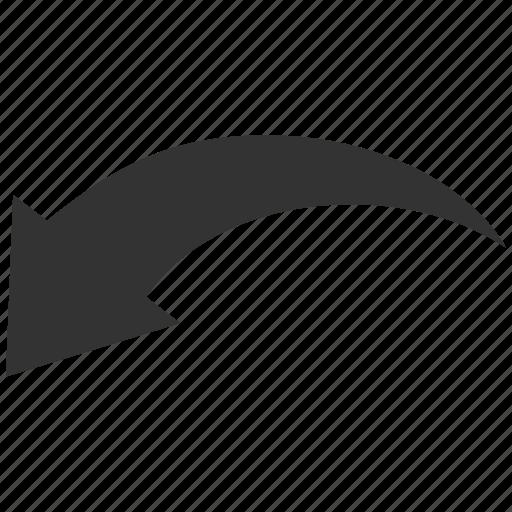 arrow, back, cancel, history, remove, rotate, undo icon