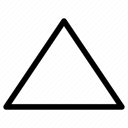 above, command, top, triangle, up, upload icon