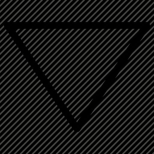 Bottom, caret, directional, down, download, downward icon - Download on Iconfinder
