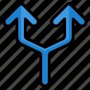 alternate, arrow, arrows, direction, traffic