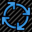loop, sync, cycle, arrow, arrows