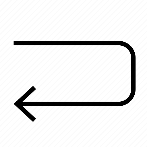 arrow, back, backward, forward, left icon