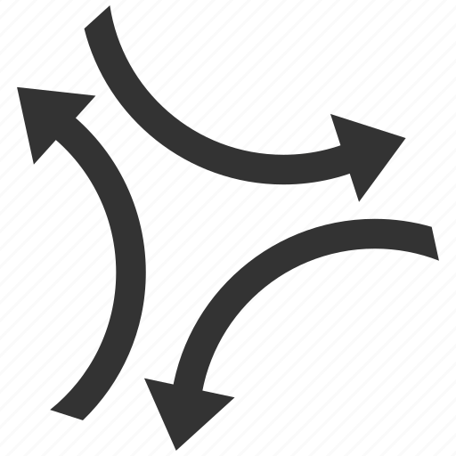 exchange, flip, mirror, refresh arrows, swap, transfer, update icon