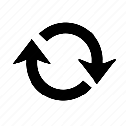 arrow, circuler, load, refresh, reload, repeat, update icon
