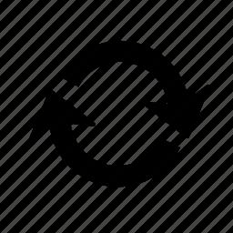 arrow, clockwise, load, loop, refresh, repeat, sync icon
