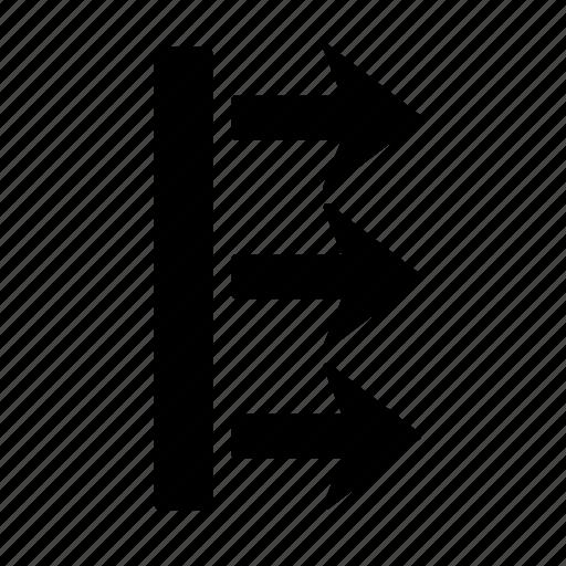 arrow, box, direction, go, move, pointer, right icon