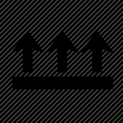 Arrow, up, direction, move, navigation, upload icon - Download on Iconfinder