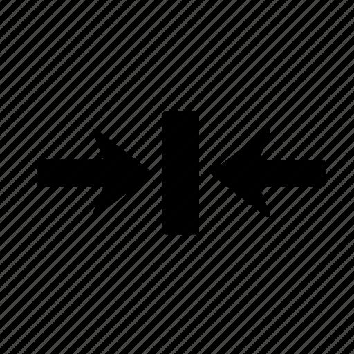 Arrow, box, right, clash, collision, impact, jar icon - Download on Iconfinder