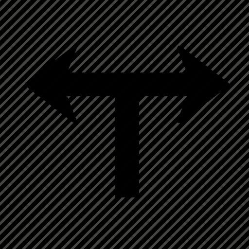 arrow, go, left, right icon