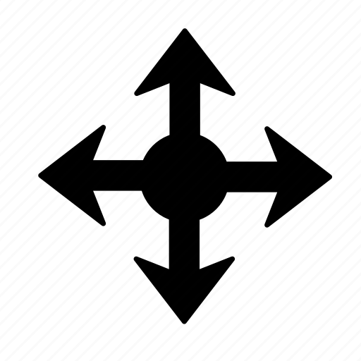 arrow, corners, direction, full, handler, resize, sides icon