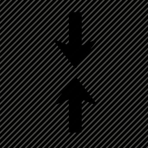 Arrow, clash, collision, direction, impact, jar, pointer icon - Download on Iconfinder