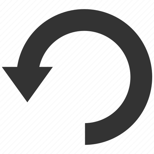arrow, circular, down, reload, repeat, rotate, rotation icon