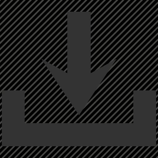 disk, down, download, downloads, guardar, load, save, storage icon