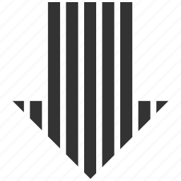 direction, down arrow, download, fail, guardar, move, save, stripe icon