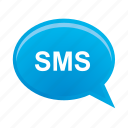 bubble, communication, message, sms, speech, talk icon