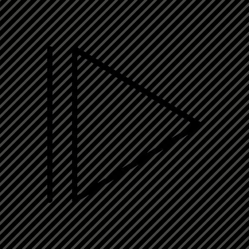 arrow, arrows, direction, move, play, point, right arrow icon