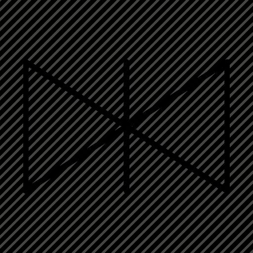 arrow, arrows, direction, flip horizontal, move, point, reflect icon