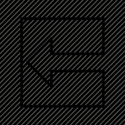 arrow, arrows, direction, left arrow, move, move left, point icon