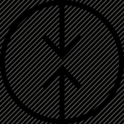 Arrow Blend Combination Combine Fuse Merge Mix Icon