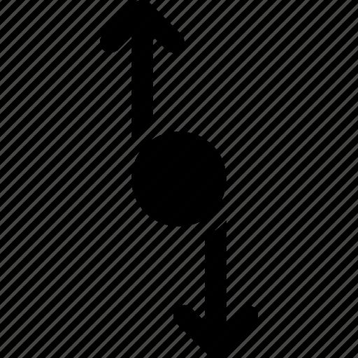 activity, arrows, circle, motion, process, rotation icon