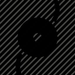 center, circle, disc, motion, shield, turning icon