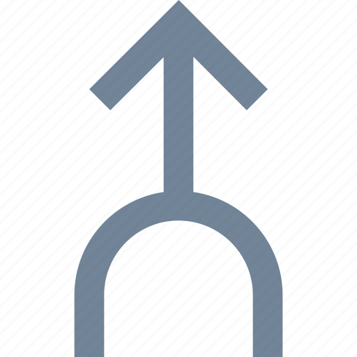 Direction, traffic, line, arrow icon - Download on Iconfinder