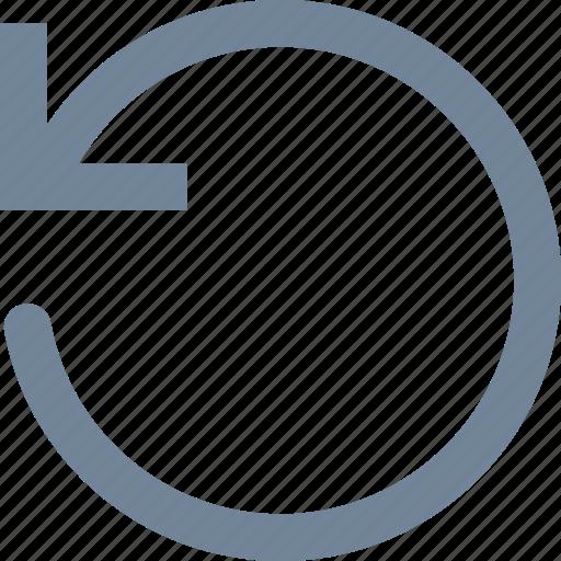 arrows, line, refresh icon