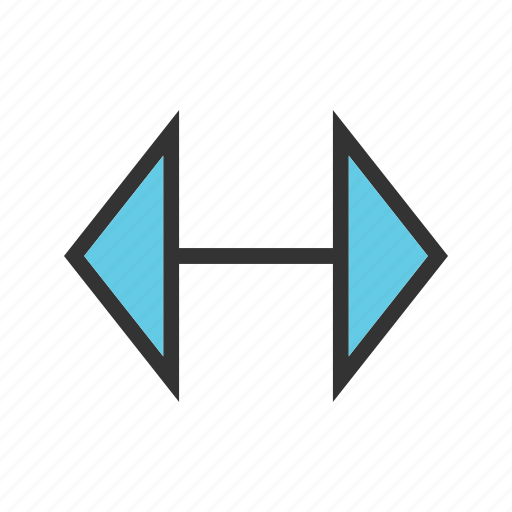 Arrow, arrows, direction, double, left, right icon - Download on Iconfinder