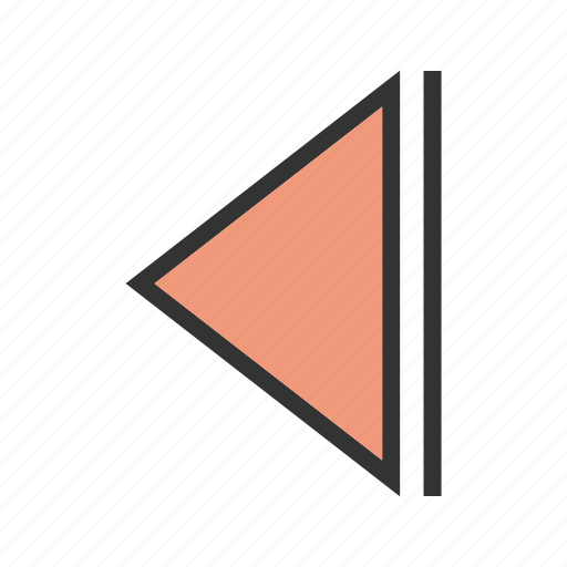 arrow, back, cursor, left, navigation, pointer, undo icon