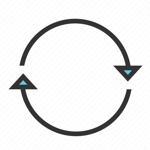 Arrow, circle, circular, refresh, repeat, rotate, rotation icon - Download on Iconfinder