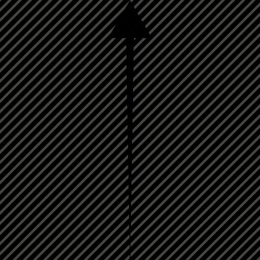 arrows, diagonal, direction, pointer, upper icon
