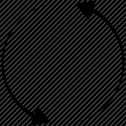 arrow, arrows, direction, refresh, reload icon