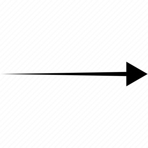 arrows, diagonal, direction, pointer, right icon