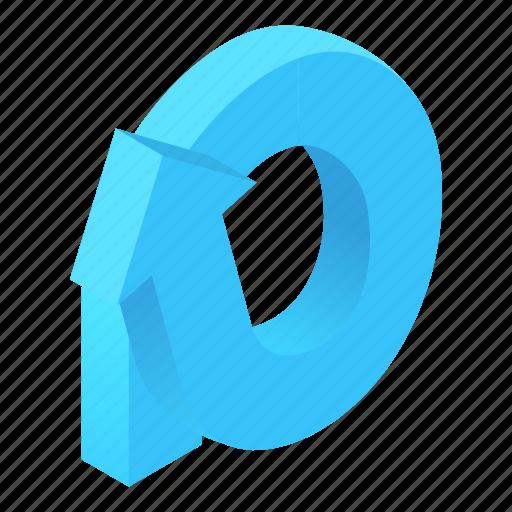 arrow, cartoon, destination, direction, information, round, way icon