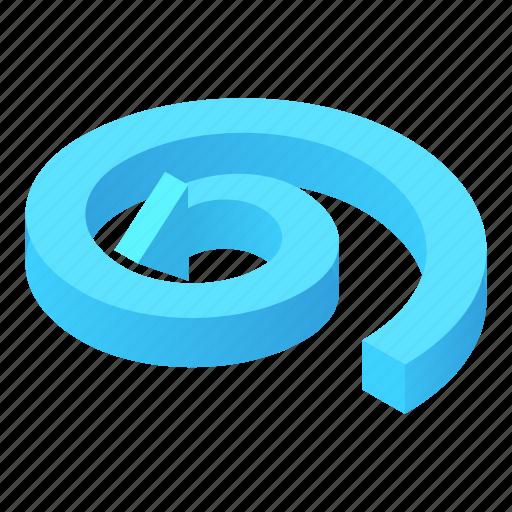 Arrow, cartoon, circular, direction, information, way icon - Download on Iconfinder