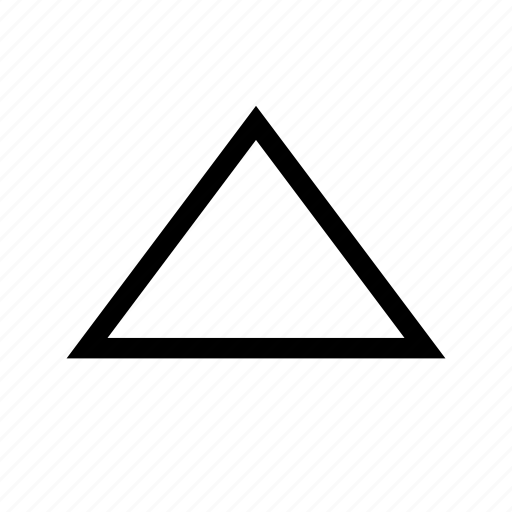 arrow, direction, move, top, triangle, up icon