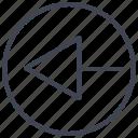 left, arrow, arrows, circle, direction, navigation