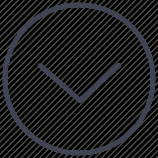 arrow, arrows, direction, down, pointer icon